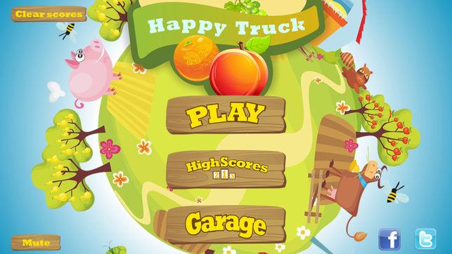 بازی HappyTruck برای ایفون