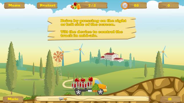 بازی HappyTruck برای iOS