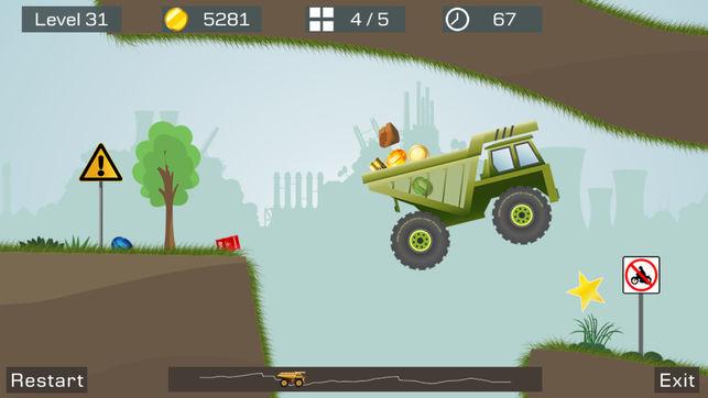 بازی big truck برای ایفون