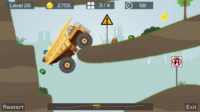 بازی big truck برای iOS