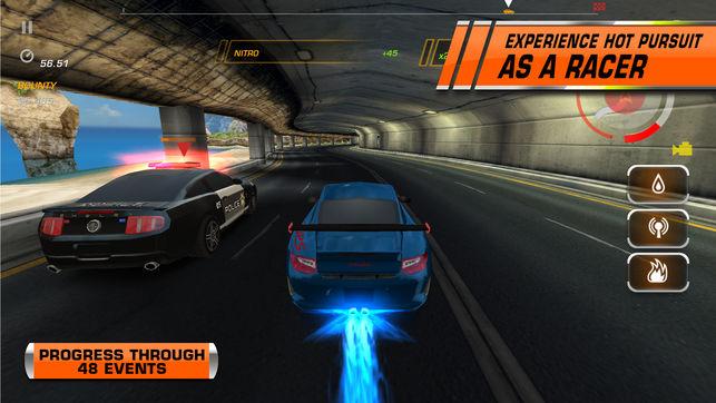 بازی hot pursuit برای ایفون