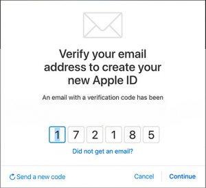 فراموش کردن سوال امنیتی اپل ایدی