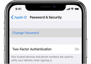 فراموش کردن رمز عبور اپل آیدی