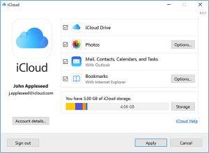 دانلود iCloud برای ویندوز