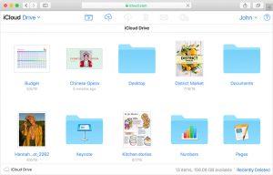ذخیره فایل در icloud drive