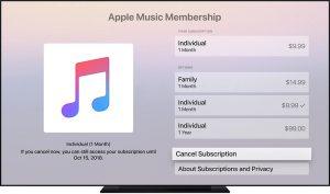 شارژ اپل موزیک